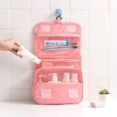 ✭米菈生活館✭【E96】韓版防水收納包 290D 手提 收納 分裝 化妝包 多功能分隔 掛勾大容量 洗澡包