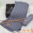 手工編織圍巾diy材料包線織圍巾毛線毛線團送男友禮物【淘嘟嘟】