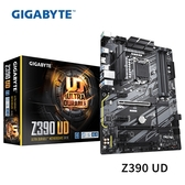GIGABYTE 技嘉 Z390 UD 1151腳位 主機板