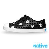 native 小童鞋 JEFFERSON 小奶油頭鞋-波卡白點