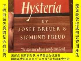 二手書博民逛書店Studies罕見On Hysteria By Sigmund