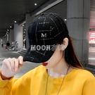 棒球帽女韓版潮百搭遮陽帽太陽帽時尚網紅款春夏帽子休閑鴨舌帽 快速出貨