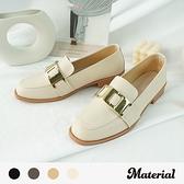 樂福鞋 質感金扣樂福鞋 MA女鞋 T53852