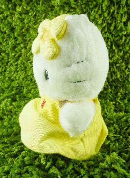 【震撼精品百貨】Hello Kitty 凱蒂貓~KITTY絨毛娃娃-黃花造型