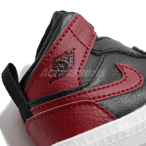 Nike Air Jordan 1 CRIB Bootie Bred 黑 紅 白 喬丹 飛人 AJ1 童鞋 小童鞋 運動鞋【ACS】 AT3745-023