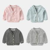 寶寶衣服女秋季長袖外衣1新生兒開衫上衣純棉3個月嬰兒外套秋冬男 森活雜貨
