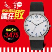 SKAGEN 北歐超薄時尚設計腕錶 40mm/丹麥/簡約設計/SKW6162 現貨!