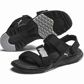 PUMA JS Trail Sandal男款黑色織布涼鞋-NO.37248801