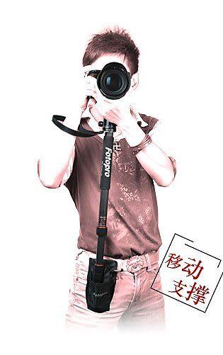 又敗家@FOTOPRO單腳架腰袋腰包PB-2收納袋適作攝影托架攝影架攝影穩定器婚攝手持穩定器DV穩定器
