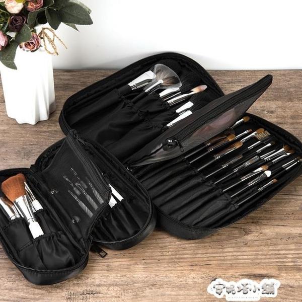 專業便攜化妝刷收納包日系刷子收納袋空套高檔刷具桶化妝掃收納袋 夏季特惠