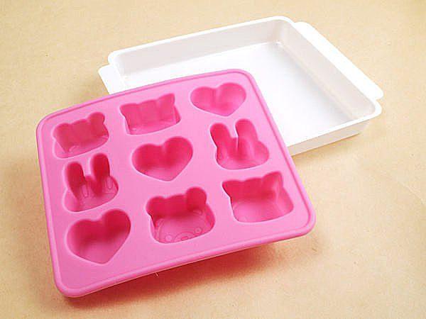 日本設計 巧克力模型 造型冰塊 DIY 矽膠模 禮物 情人節 烘培【SV3181】BO雜貨