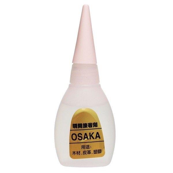 OSAKA 瞬間接著劑 20g (金標)/一箱50罐入(定80) 三秒膠 快乾 瞬間膠 瞬間接著劑-景