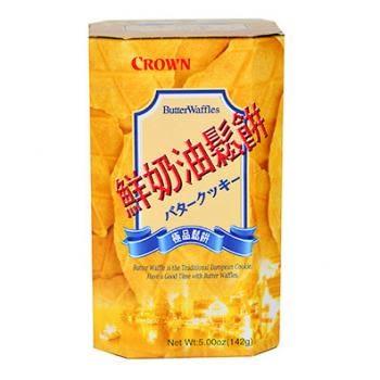 【Crown鮮奶油鬆餅142克,5小包/盒】