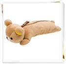 拉拉熊 立體 絨毛造型 筆袋 化妝包 日本正版  通販 奶爸商城 671712
