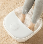 現貨 電動泡腳機 110v 折疊足浴盆泡腳桶家用自動按摩電動加熱恒溫足浴盆