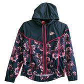 Nike AS W NSW WR JKT AOP FLORAL  連帽外套 922189471 女 健身 透氣 運動 休閒 新款 流行