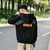 長袖T恤-連帽日系街頭休閒時尚男上衣2色73pr28【巴黎精品】