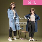 大碼仙杜拉-中大尺碼長版牛仔外套 M-L碼 ❤【TU9759】(預購)