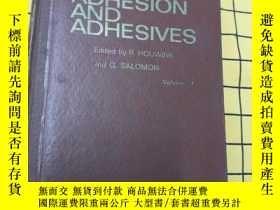 二手書博民逛書店ADHESION罕見AND ADHESIVES:volume 1