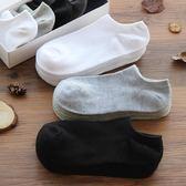 襪子男短襪棉質低筒素面淺口船襪個性潮男士四季運動防臭短筒棉襪「寶貝小鎮」