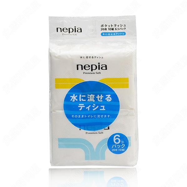 【日本Nepia】極致柔順面紙(10抽) _6包入