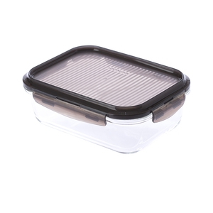 樂扣樂扣積木耐熱玻璃保鮮盒1000ml/長方形