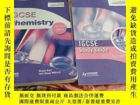 二手書博民逛書店IGCSE罕見Chemistry Second Edition+