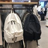 後背包新款2020韓版ins大容量簡約後背包休閒電腦背包帆布學生書包男女 愛丫愛丫