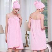 浴裙天絲棉成人浴巾可穿女性感抹胸浴裙比全棉質吸水不掉毛 全館免運88折