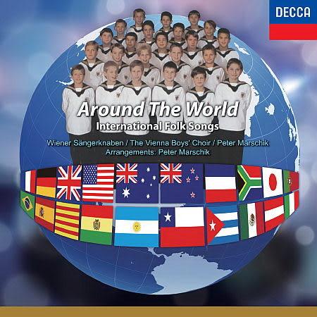 國際中文版 312 維也納少年合唱團 世界民謠 CD (音樂影片購)