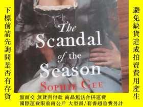 二手書博民逛書店The罕見Scandal of the SeasonY85718