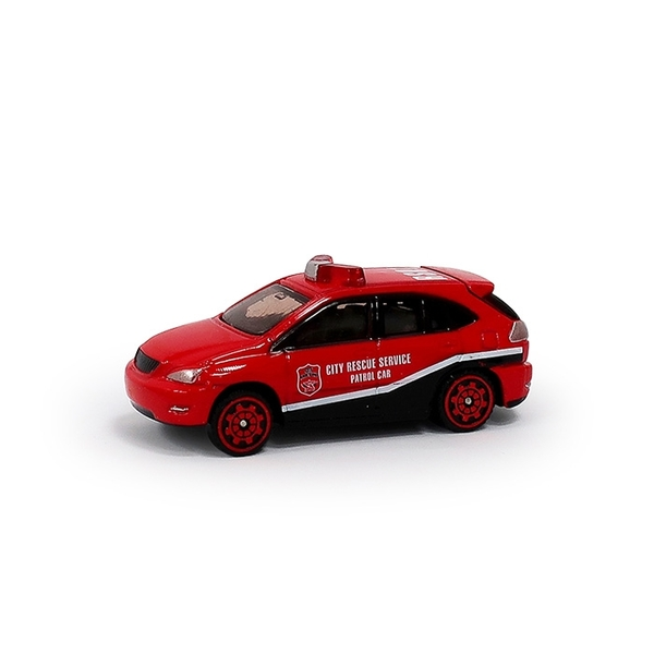 A&L奧麗迷你合金車 NO.37 消防救援隊 滑行車 消防車 搶救車 模型車(1:64)【楚崴玩具】