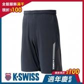 K-SWISS Performance Knit Shorts 運動短褲-男-黑