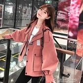 新款2021工裝秋夾克森系百搭小眾洋氣帥氣寬松薄外套休閑學生風衣 快速出貨
