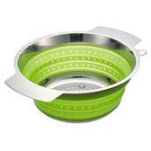Rosle 折疊式 濾水籃 水果籃 洗菜籃 24 cm 綠色
