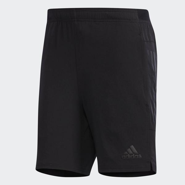 ADIDAS Climacool 男款黑色輕量透氣短褲-NO.CV4293