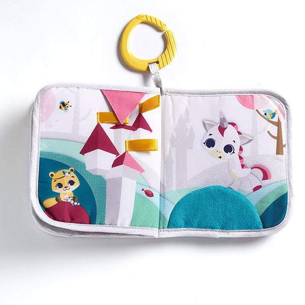 美國Tiny Love Tiny Princess Tales™ / Meadow Days™遊戲布書(粉色款/藍色款)【佳兒園婦幼館】