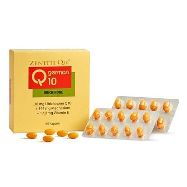 常青十倍素 Q10膠囊 60粒 (德國原裝進口) 專品藥局【2007620】