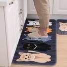 廚房地墊門墊進門腳墊家用臥室地毯吸油吸水防滑墊門口衛生間墊子 陽光好物