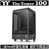 [地瓜球@] 曜越 TT The Tower 100 機殼 全景 直立式 迷你 mini ITX