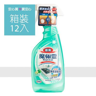【魔術靈】廚房清潔劑噴槍瓶500ml,12罐/箱,平均單價79.92元