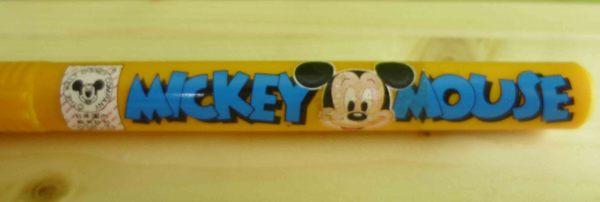 【震撼精品百貨】Micky Mouse_米奇/米妮 ~擦布筆-黃米奇