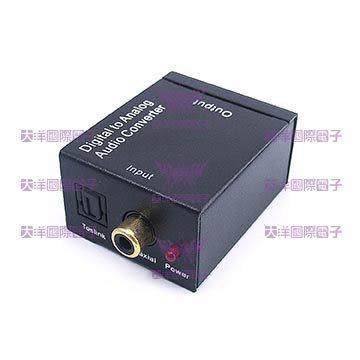 ◤大洋國際電子◢ 數位光纖/同軸轉類比轉換器 (Digital to Analog Audio) 0600