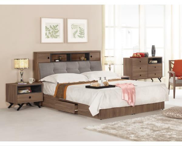 床頭櫃【YUDA】約克 1.8尺 床頭櫃/床邊櫃/床邊箱 J9M 563-6