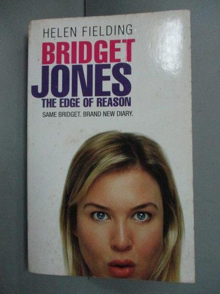 【書寶二手書T7/原文小說_HGE】Bridget Jones The Edge of Reason