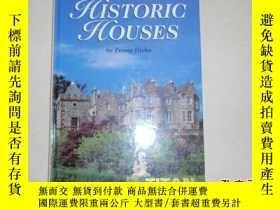 二手書博民逛書店英文原版畫冊:historic罕見houses(16開精裝)05