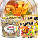 德國HARIBO小熊軟糖迷你包100入桶裝 水果軟糖 [GM3011800]千御國際