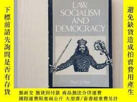 二手書博民逛書店Law,罕見Socialism and Democracy(RL