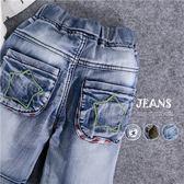 星星徽章迷彩牛仔褲短褲(3款)(250065)★水娃娃時尚童裝★