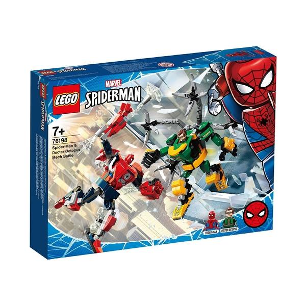 LEGO樂高 76198 Spider-Man & Doctor Octopus Mech Battle 玩具反斗城